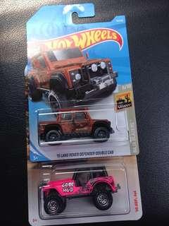 🔥hotwheels landrover vs matchbox jeep🔥