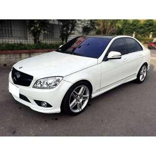 Benz  W204  C300 3.0L '08  白