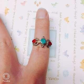 古代貴族款S925純銀戒指
