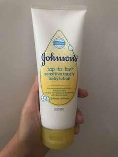 Johnsons Baby Top to toe body lotion