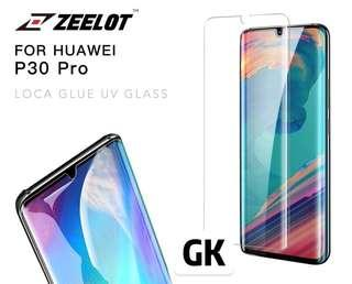 🚚 Zeelot PureGlass LOCA Tempered Glass Screen Protector for Huawei P30 Pro