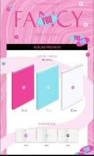 TWICE FANCY ALBUM GO (Perth Based)