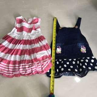 Girl Dress For 1-3 Year Old