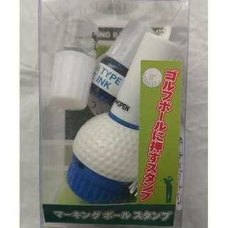 高爾夫球畫線器 印章