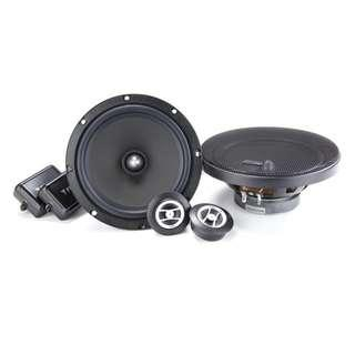 Focal RSE165 and RCX165 Car Speakers Bundle