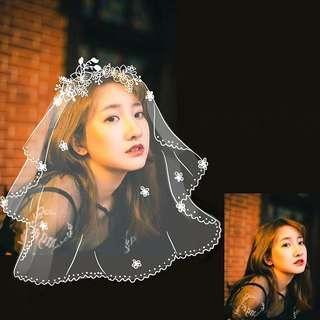 🚚 wedding bridal veil avatar art commission girlfriend