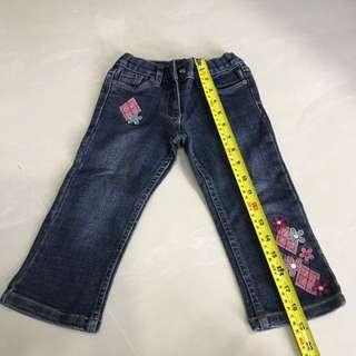 Girl Jeans For 1-3 Year Old