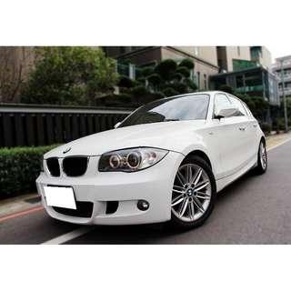 BMW  E87  120d  2.0L  '10 白