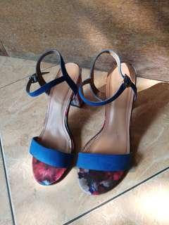 Fladeo High Heels blue