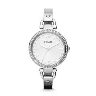 Orig Fossil Silver Tone Ladies Watch