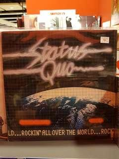 Status Quo - Rockin All Over The World LP