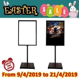 (Promo) Evio Asia Metal Poster Display Single Stand (90cm x 65.5cm)