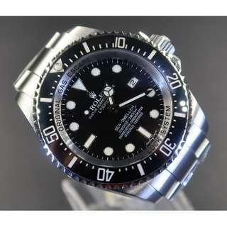 Pre Owned Rolex Deepsea Seadweller 116660  * Scratch On Bezel And Crystal*