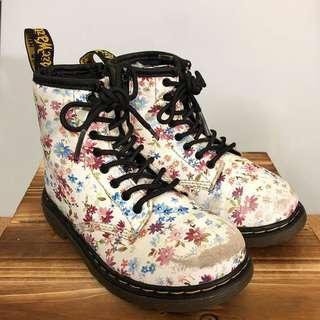 Dr Martens Floral Boots (Kids)