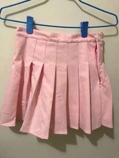 粉色百摺裙❤️