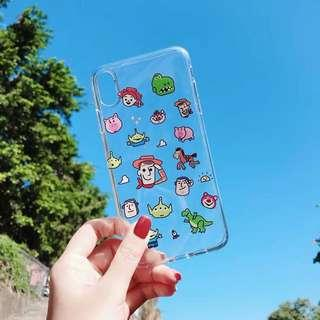iPhone XS Max toy's story case casing slim