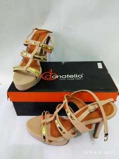 Wedges high heels Donatello