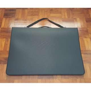 A1 Portfolio with Clear Sleeves
