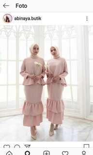 Preloved set abinaya butik