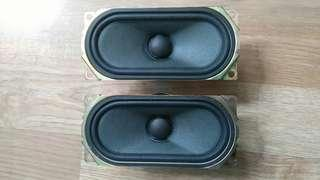 Speaker driver units - 1 pair