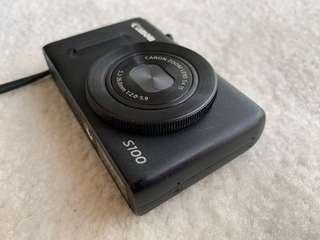 Canon S100 12.1mp digital camera (used)