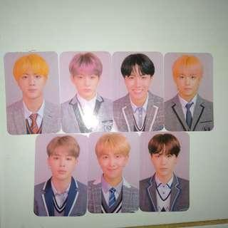 Photocard BTS from album Love Yourself Answer versi L unofficial