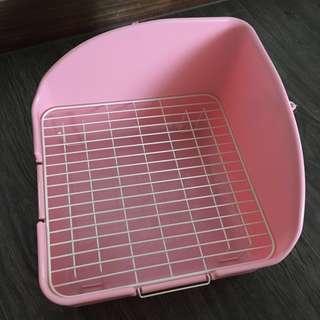 Rabbit Litter Pee Tray