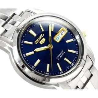 Seiko 5 Automatic 21 Jewels SNKL83K1 Men's Watch