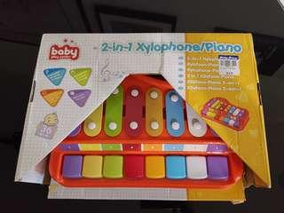 Baby Play Centre 2 in 1 Xylophone / Piano