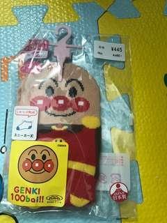 麵包超人襪9-12cm 日本製