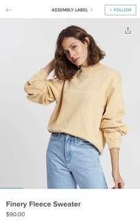 Assembly Label Sweatshirt