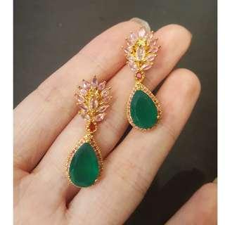 (sold) gemstone earring
