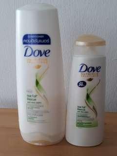 Hair Shampoo & Conditioner by Dove