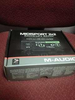 M-Audio MIDISport 2X2 Anniversary Edition MIDI interface