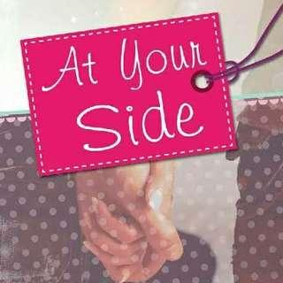 Buku Novel Original At Your Side by Monica Petra