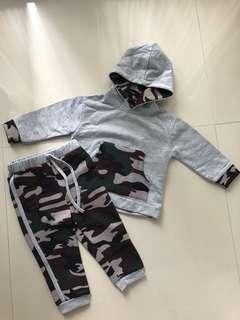 Baby Set Army Look