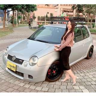 福斯 LUPO GTI 2002 銀色(全台限量六速手排車)
