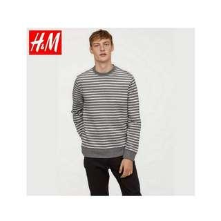 H&M STRIPED SWEATER ORIGINAL
