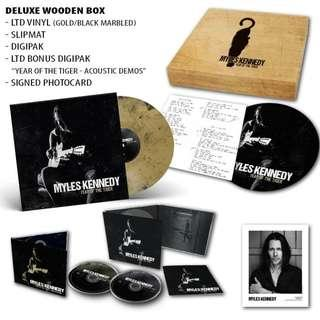 Myles Kennedy - Year Of The Tiger/Limited Edition Deluxe Wooden Boxset