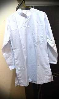 Baju Muslim Putih Panjang