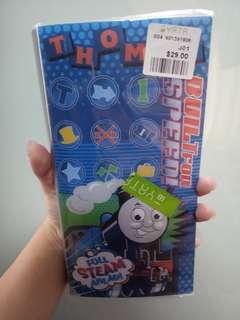 全新Thomas火車卡片套本有多頁card holder book