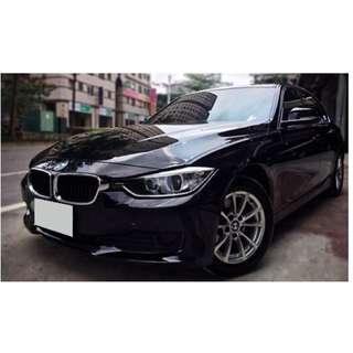 BMW  F30  316i  1.6L  '14  黑