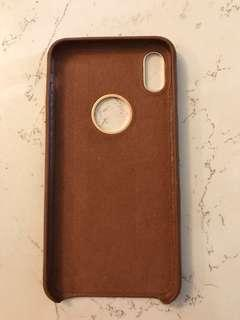 🚚 iPhone XS Max leather cover