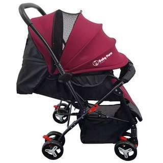 Stroller 2 Way (Maroon)