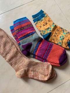 民族風長襪