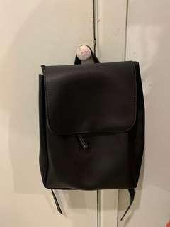Cute backpack black