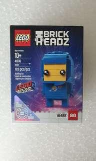 Lego 41636 brickheadz movie 2 Benny target exclusive