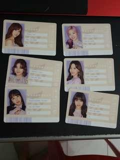 Twice #twice2  id card