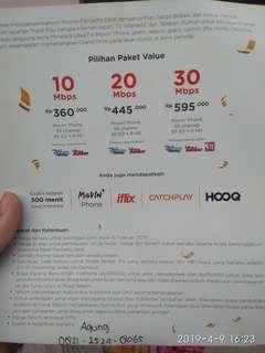 Siapa tau minat pemasangan wifi baru Indihome untuk daerah Jakarta Pusat