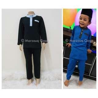 🎆👶0-3yrs Baby Toddlers Baju Raya Boy Fashion Baju Melayu